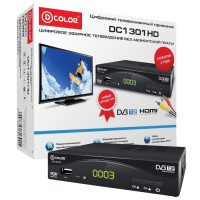 Тюнер DVB-T D-Color DC1301HD