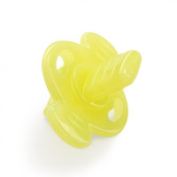 Прорезыватель Happy Baby Silicone Teether In Case yellow (20022)