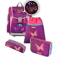 Ранец Step By Step Touch2 Flash Shiny Butterfly (0139131)