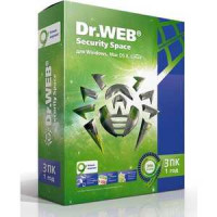 Программное обеспечение Dr.Web Security Space Pro 3 (AHW-B-12M-3-A2)