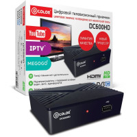 Тюнер DVB-T D-Color DC600HD