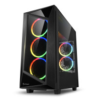 Компьютерный корпус Sharkoon REV200 RGB черный