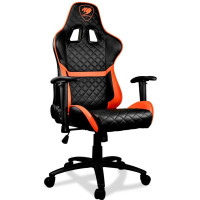 Кресло игровое Cougar Armor One black/orange (CU-ARMONE)
