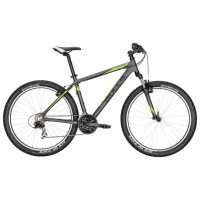 Велосипед Bulls Pulsar 27.5 (2017) black matt/green 16