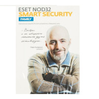 Программное обеспечение Eset NOD32 Smart Security Family - лиц на 1год (NOD32-ESM-1220(BOX)-1-3)
