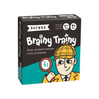 Игра-головоломка Brainy Trainy Логика УМ266