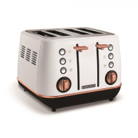 Тостер Morphy Richards Evoke Rose Gold White 240115