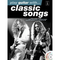 Песенный сборник Musicsales Play Guitar With Classic Songs