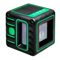 Лазерный уровень ADA Cube 3D Green Professional Edition А00545