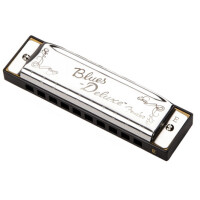 Губная гармоника Fender Blues Deluxe Harmonica Key of E