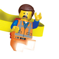 Налобный фонарик IQ Hong Kong Lego Movie Emmet (LGL-HE14)