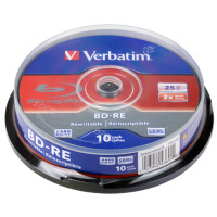 Диск BD-RE Verbatim 25 GB 43694