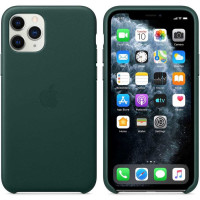 Чехол для Apple iPhone 11 Pro Max Leather Case Forest Green MX0C2ZM/A