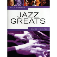 Песенный сборник Musicsales Really Easy Piano: Jazz Greats