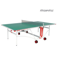 Стол теннисный Donic Outdoor Roller De Luxe Green