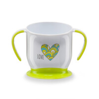Кружка Happy Baby Baby Cup With Suction Base Lime
