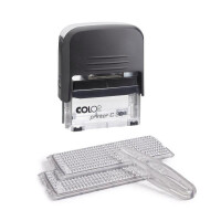 Самонаборный штамп Colop Printer C30 Set черный