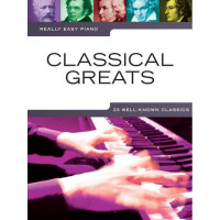 Песенный сборник Musicsales Really Easy Piano: Classical Greats