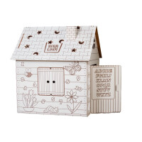 Картонный домик Bibalina Colouring play-house (BBL003-001)