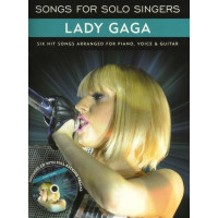 Песенный сборник Musicsales Songs For Solo Singers: Lady GaGa