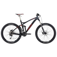 Велосипед Merida One-Forty 7.500 Matt Black/Dk. Grey/Signal Red L (2015)