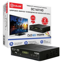 Тюнер DVB-T D-Color DC1401HD