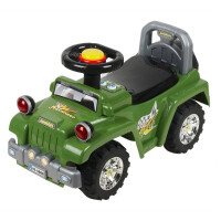 Каталка-толокар Baby Care Super Jeep красный (553)
