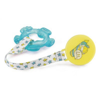 Прорезыватель Happy Baby Water Teether With Holder blue (20013)