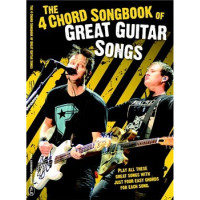 Книга с нотами Musicsales The 4 Chord Songbook Of Great Guitar Songs HLE90004695