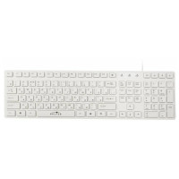 Клавиатура Oklick 556S Slim White USB