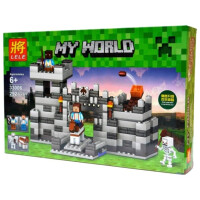 Конструктор Lele My World Неприступная крепость 33006
