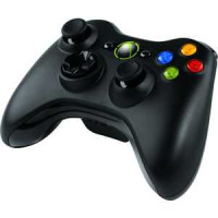 Геймпад Microsoft XBox 360 Wireless Controller black (NSF-00002)