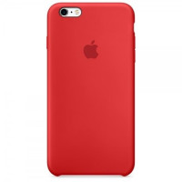 Чехол Apple iPhone 6-6s Silicone Case Red (MKY32ZM/A)
