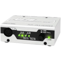 Аудиоинтерфейс M-Audio MidiSport 2x2 USB