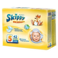 Подгузники Skippy Econom XL (12-25 кг) 42 шт