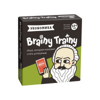 Игра-головоломка Brainy Trainy Экономика УМ267