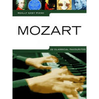 Песенный сборник Musicsales Really Easy Piano: Mozart