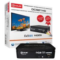 Тюнер DVB-T D-Color DC921HD
