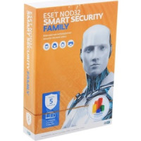 Программное обеспечениe ESET Антивирус NOD32 Smart Security Family