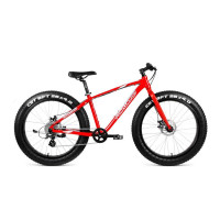 Велосипед Forward Bizon FatBike 16' Красный