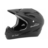 Шлем велосипедный Polisport Black Thunder Downhill M (53-56)