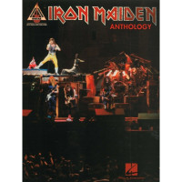 Сборник нот Iron Maiden Anthology Guitar Tab Guitar Recorded Versions HL00690790