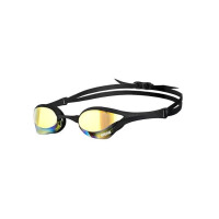 Очки для плавания Arena Cobra Ultra Mirror Yellow revo/Black/Black (1E032 55)