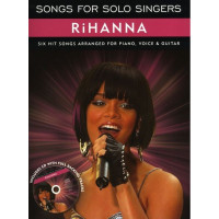 Песенный сборник Musicsales Songs For Solo Singers: Rihanna