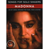 Песенный сборник Musicsales Songs For Solo Singers: Madonna