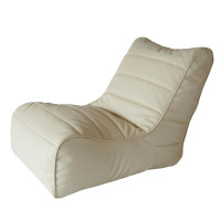 Кресло Papa Poof soft lounger beige