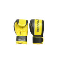 Перчатки боксерские Reebok RSCB-11112YL Retail Boxing 12 oz Gloves-Yellow