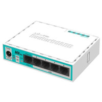 Маршрутизатор MikroTik RB750R2 10/100BASE-TX белый