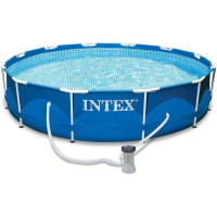 Каркасный бассейн Intex Metal Frame 28212