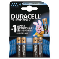 Батарейки Duracell MX2400/LR03 Turbo BP4